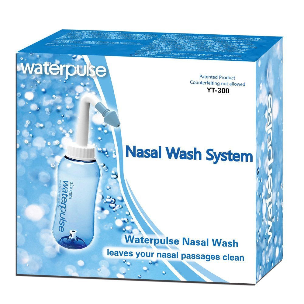Novo produto! Irrigador nasal WaterPulse!