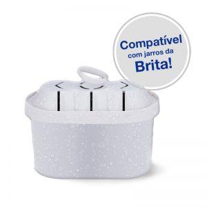filtro água alcalina compatível para jarros de água brita